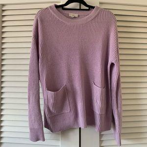 NWT lavender Ann Taylor loft sweater